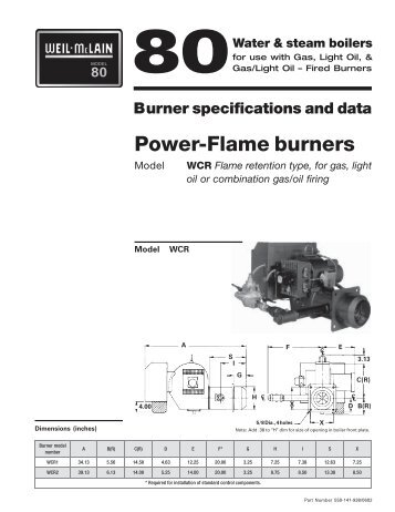 power flame burners weil mclain?quality=85 uo riello f5 oil burner manual weil mclain power flame wiring diagram at bayanpartner.co