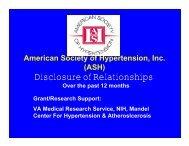 p - American Society of Hypertension