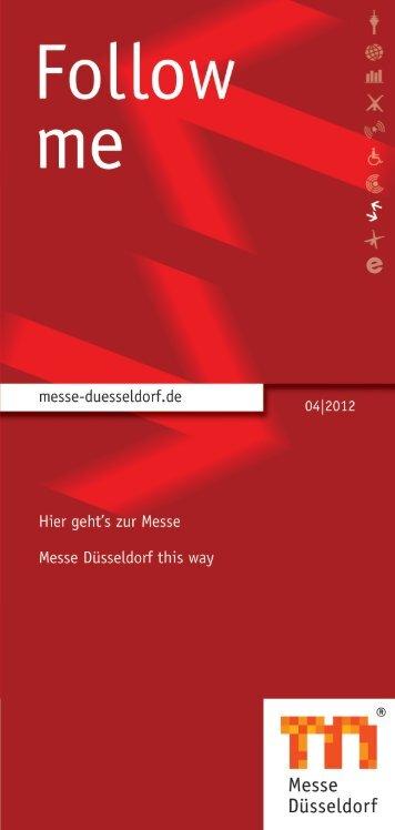 Follow Me - Messe Düsseldorf