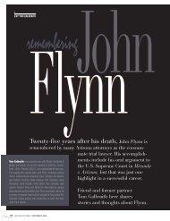 Twenty-five years after his death, John Flynn is - Lawyers