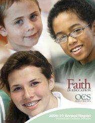 2009-10 Annual Report - Owensboro Catholic Schools