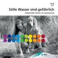 Zeitgemäßer Schutz vor Leptospirose - Impfungen beim Hund