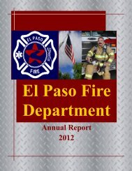 Annual Report 2012 - City of El Paso
