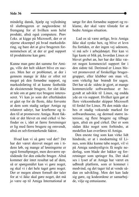Side 1 Nr. 19 Juli 2000 6. årgang Pris: 34,95 kr. - DaMat