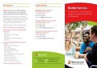 Buddy Service - Waverley Care