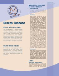 Graves' Disease Brochure - American Thyroid Association