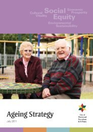 City of Norwood Payneham & St Peters Ageing Strategy