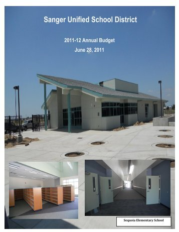 2011-12 July 1 Budget Book - Sanger Unified School District