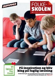 Særnummer maj 2011 - Danmarks Lærerforening