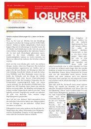 SONDERAUSGABE - Teil II Indien