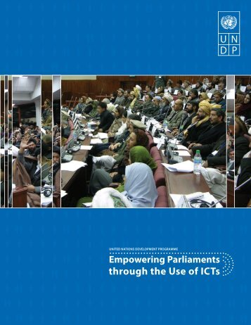 Empowering Parliaments through the Use of ICTs - Agora Portal
