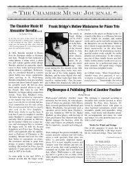 Volume 11 No.1 - Cobbett Association