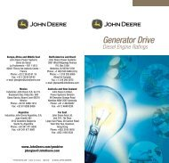 Generator drive.pdf - John Deere Industrial Engines