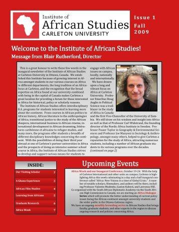 Fall 2009 - Carleton University