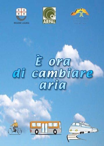 È ora di cambiare aria - ARPAL