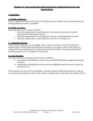 Chapter 5-Non-Profit Operating Assistance Application Forms and ...