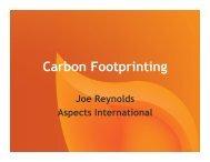 Carbon Footprinting - eco-fair