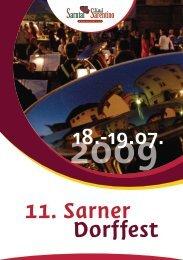 11. Sarner Dorffest - Sarntal