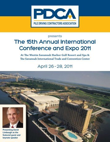 The 15th Annual International Conference and Expo 2011