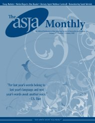 January 2008 - The ASJA Monthly