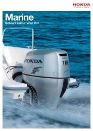 2011 Honda Catalogue - Western Marine