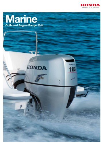 2011 Honda Catalogue - Western Marine