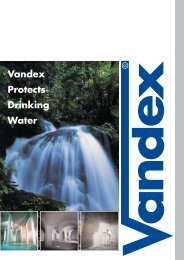 Vandex Protects Drinking Water
