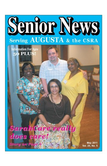 SarahCare really does care! - Senior News Georgia