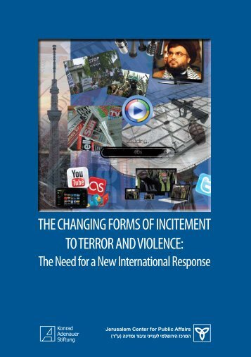 the changing forms of incitement to terror and violence - Jerusalem ...