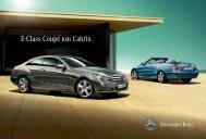 E-Class Coupé και Cabrio. - Mercedes-Benz Hellas