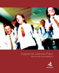 Support for Learners Policy - Angus Council