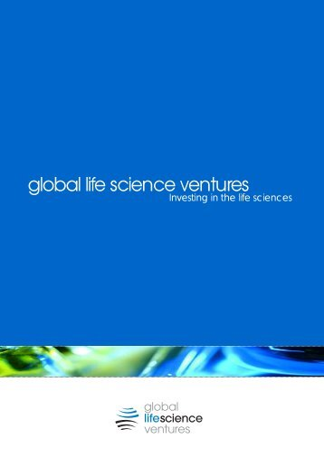 and build businesses - Global Life Science Ventures