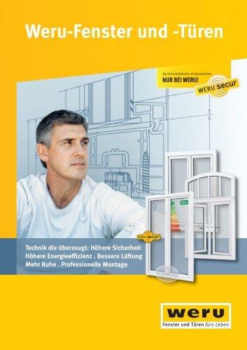 Weru-Fenster und -Türen: Technik die überzeugt: Höhere Sicherheit ...