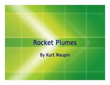Rocket Plumes - COSMOS