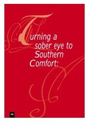 Turning a sober eye to southern comfort by Jonathan Nicholas Gill