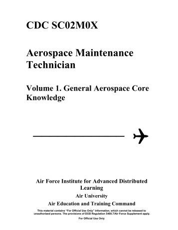 maintenance cdc vol 1 Cdc 1w051b weather journeyman volume 1 climatology, regional analysis and forecast program, and forecast reviews _____ extension course program (a4l) air university air education and training command 1w051b 01 1112, edit code 04 afsc 1w051.
