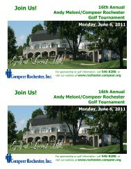 2011 save the date golf - Compeer Rochester