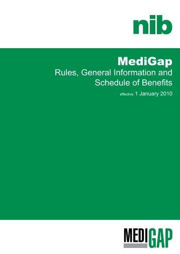 MediGap - nib
