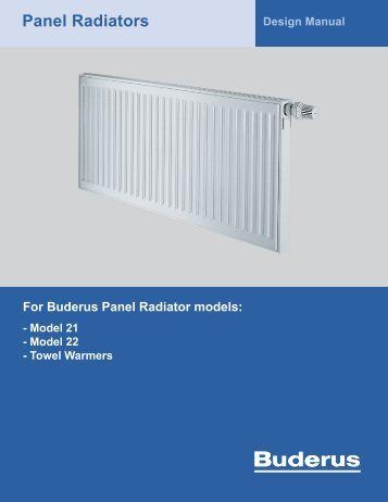 Panel Radiators - Buderus