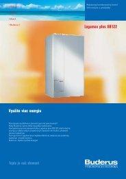 Logamax plus GB122 Využite viac energiu - Buderus