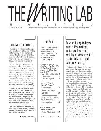 23.6 - The Writing Lab Newsletter