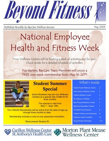 2008 winter blueprint for health magazine st anthonys hospital national employee health and fitness week st anthonys hospital malvernweather Image collections