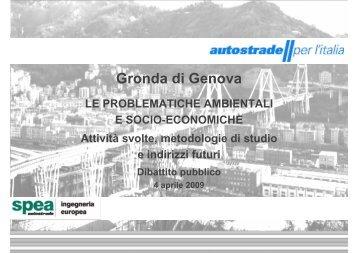 Le problematiche ambientali e socio economiche ... - Urban Center