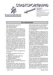 Zum Jahreswechsel - Stadtsportbund Mönchengladbach e.V.