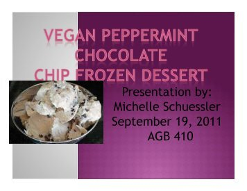Vegan Peppermint Chocolate Chip Frozen Desert. - International ...
