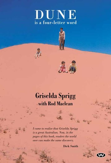 Griselda Sprigg - Wakefield Press
