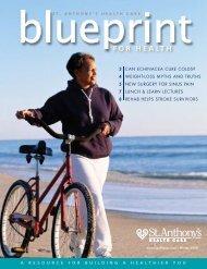 2008 winter - Blueprint for Health magazine - St. Anthony's Hospital