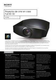 Proyector de cine en casa Full HD 3D - Supersonido