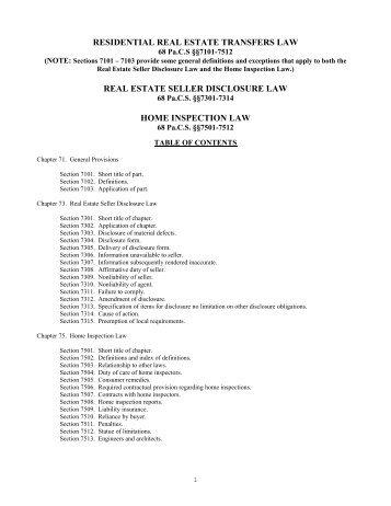 commercial real estate broken lien act - Pennsylvania Association ...