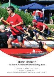 Ausschreibung, Infos etc. für den Drachenbootcup - Gießener Ruder ...
